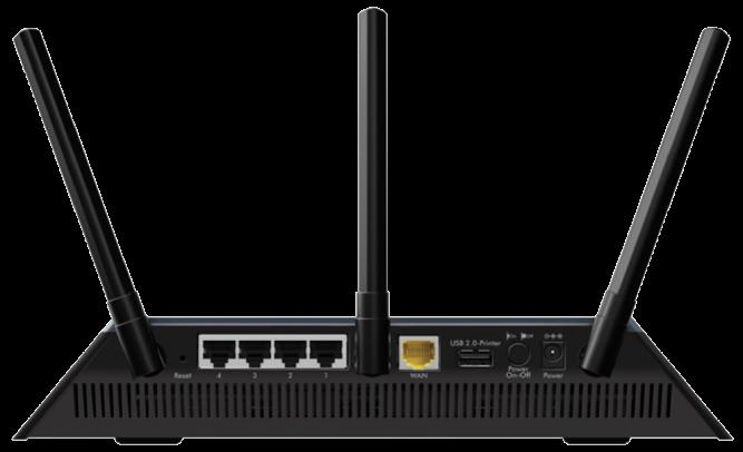Netgear R6400 DD-WRT FlashRouter Back