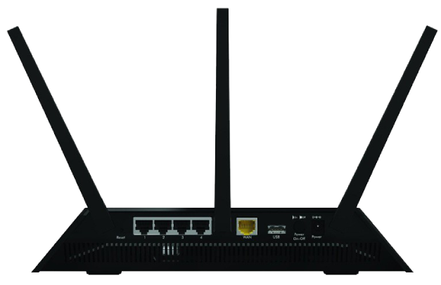 Netgear R6700 DD-WRT FlashRouter Back